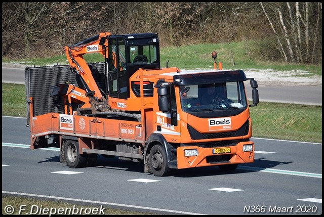 71-BKF-2 Iveco Boels Verhuur-BorderMaker Rijdende auto's 2020
