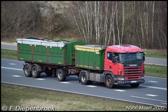 EL BT 152 Scania 124G 400 2-BorderMaker Rijdende auto's 2020