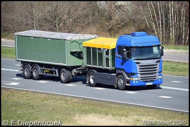 EL RA 348 Scania R480-BorderMaker Rijdende auto's 2020