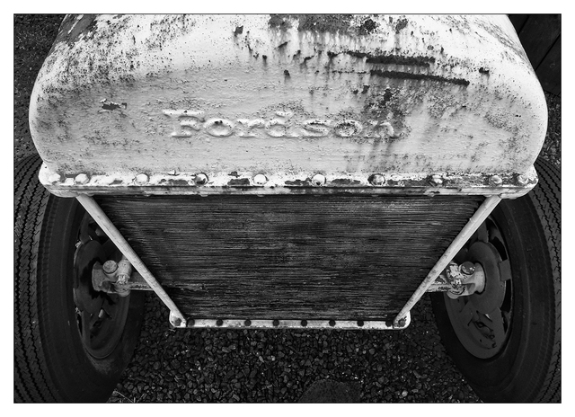 Country Market Tractor 4 Black & White and Sepia