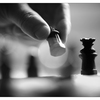 Chess Silhouette 2020 2 - Black & White and Sepia
