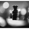 Chess Silhouette 2020 1 - Black & White and Sepia