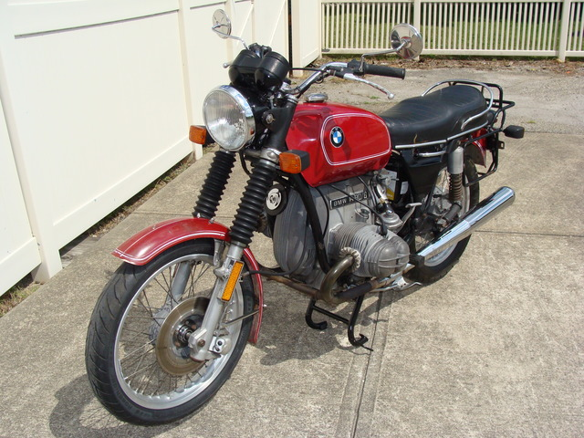 DSC02154 4043341 1974 BMW R90/6, Red. Matching VIN Numbers, Fully serviced, and Krauser Saddlebags.