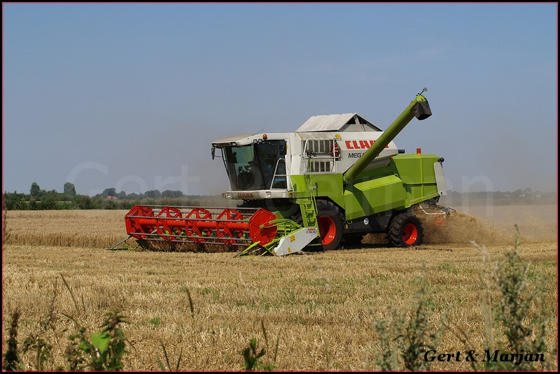 Claas combine (10)-BorderMaker - Hoiting