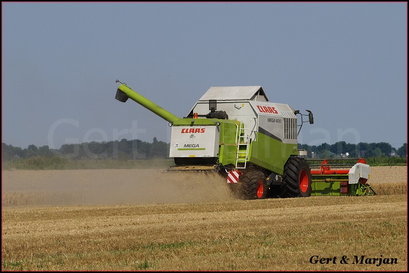 Claas combine-BorderMaker - Hoiting
