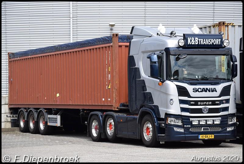 41-BKJ-1 Scania R410 K&B Transport-BorderMaker - 2020