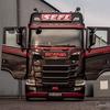 Oliver Heinrichs & sein Scania S650 von der Firma Klaus Sefl bei Westwood Truck Interieur, #truckpicsfamily