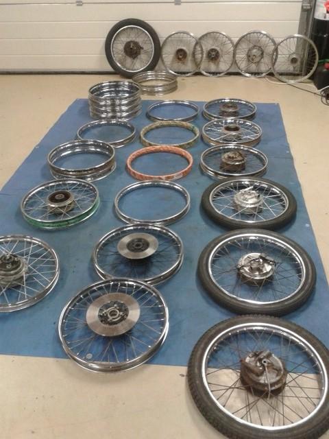 Wielen Yamaha originele onderdelen