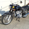 2999030 - 1973 BMW R75/5 LWB. BLACK. Large tank, Very clean & original, Matching Numbers. Hannigan Touring Fairing. New tires & much more!
