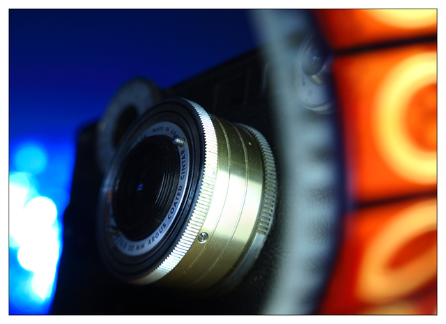 Classic Camera Bokeh 3 Close-Up Photography