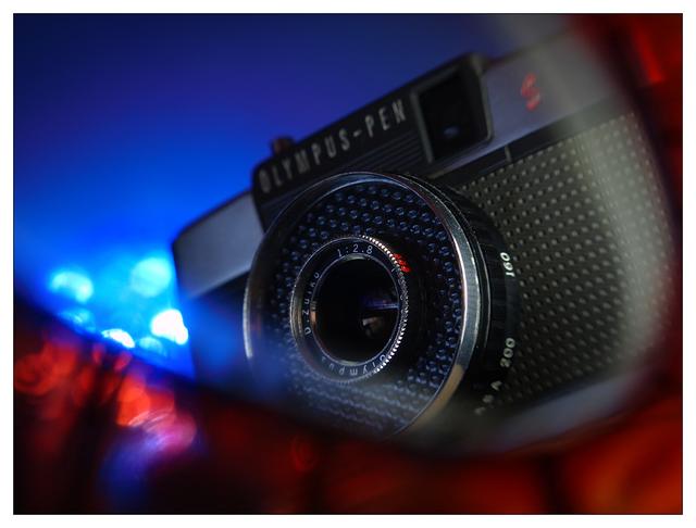 Classic Camera Bokeh Close-Up Photography
