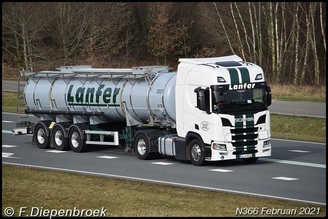 ELX 5342 Scania R450 Lanfer-BorderMaker Rijdende auto's 2021