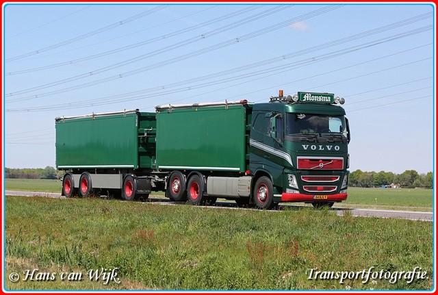 84-BJG-9-BorderMaker Kippers Truck & Aanhanger