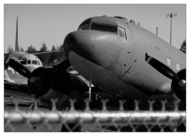Old Planes 2021 1 Black & White and Sepia