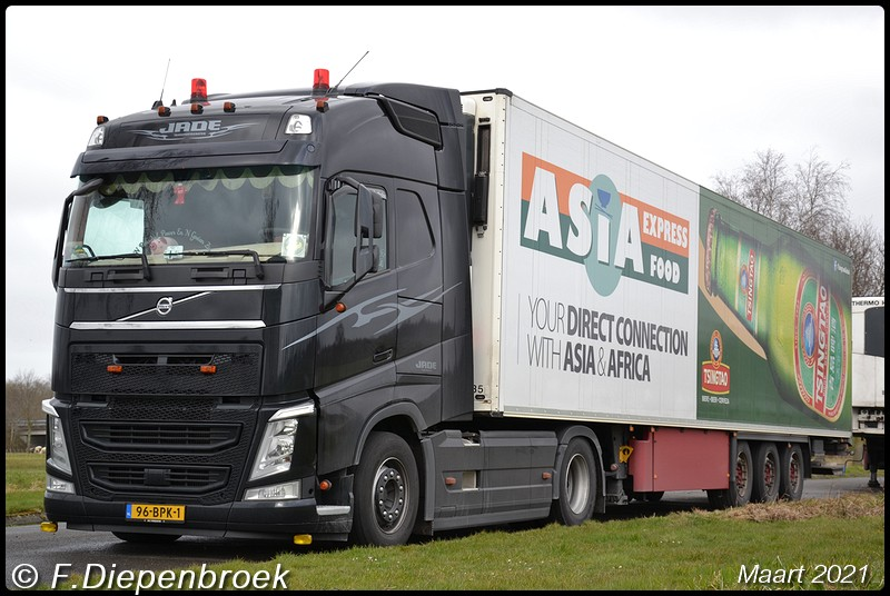 96-BPK-1 Volvo FH4 Jade Klazienaveen-BorderMaker - 2021