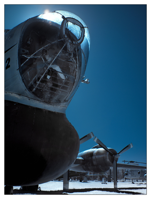 Heritage Airplane 2021 11 Infrared photography