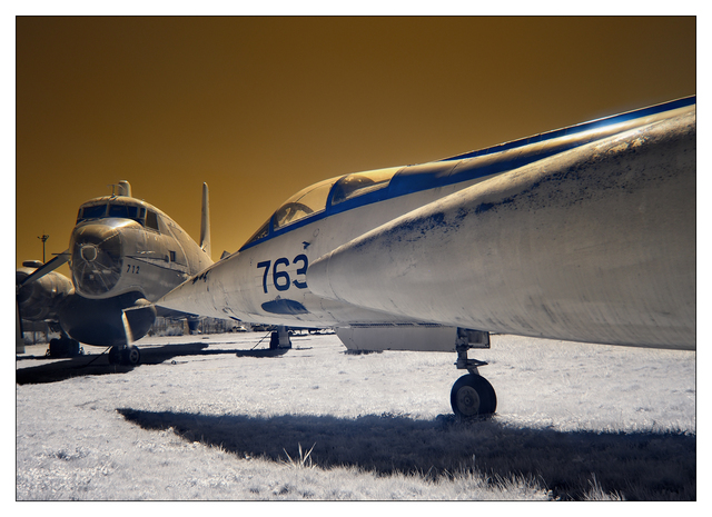 Heritage Airplane 2021 13 Infrared photography