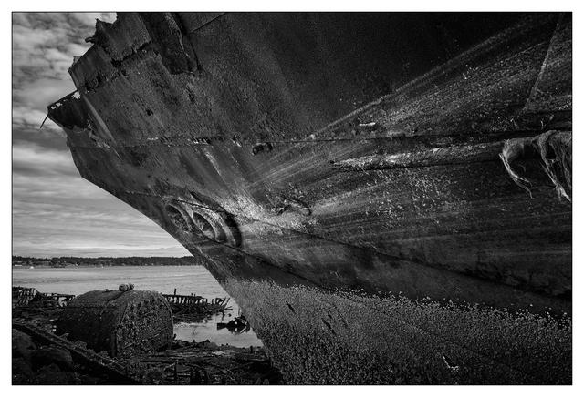 Royston Wrecks 2021 6 BW Black & White and Sepia