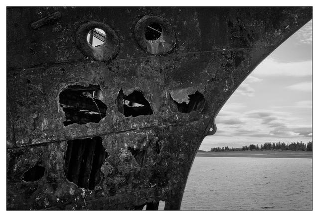 Royston Wrecks 2021 5 Black & White and Sepia