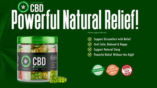 How Does CannaLeafz CBD Gummies Canada Work? Picture Box