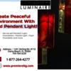 Red pendaent light www.prem... - Create Peaceful Environment...