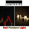 Red Pendant Light In USA - Create Peaceful Environment...