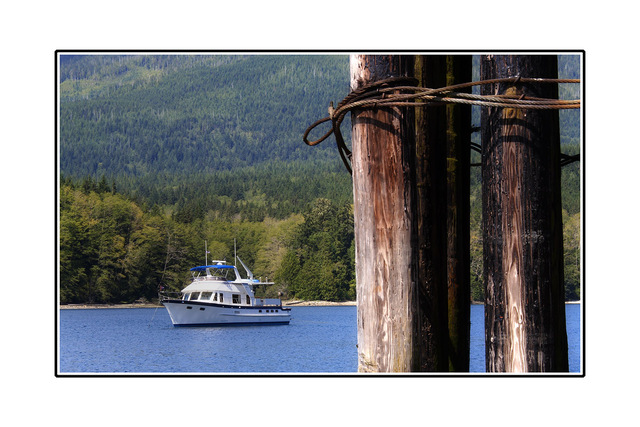 BC boat photo Vancouver Island
