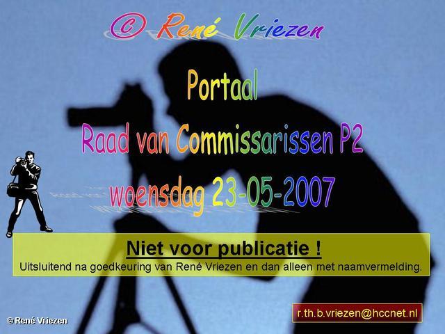 René Vriezen 2007-05-23 #0000 Portaal Raad van Comm. & Stedenbouwkund. P2 23-05-2007
