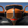 Orange Dodge - Automobile