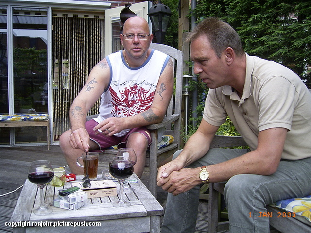 Barbeque van Paul en Ester 20-05-09 01 Barbeque met Paul en Ester 20-05-09