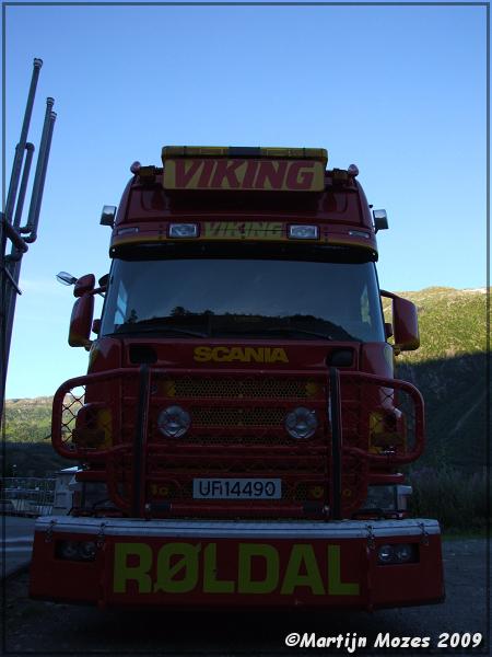 Viking Roldal Scania 164 - 580 Vrachtwagens