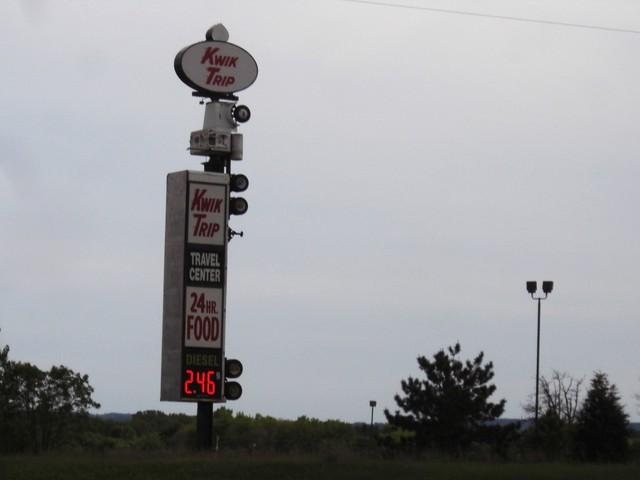 CIMG6371 Billboards, Bikes, Roadsighns