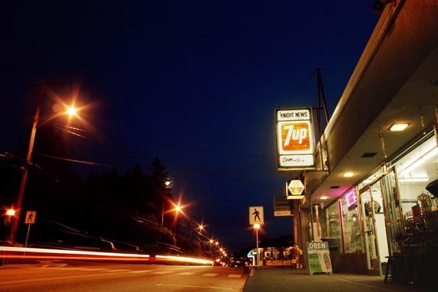 Powel River street 35mm photos