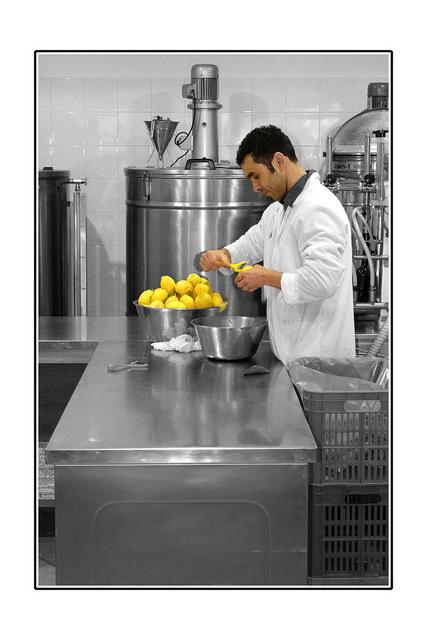 capri lemon peeler Italy photos