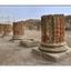 Pompeii columns - Italy photos
