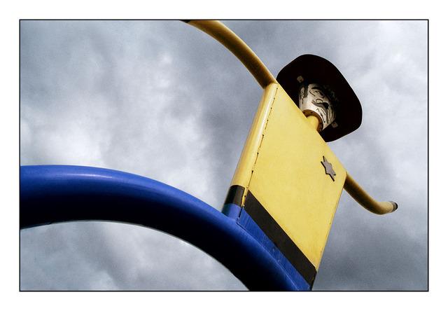 Park cowboy - 35mm photos