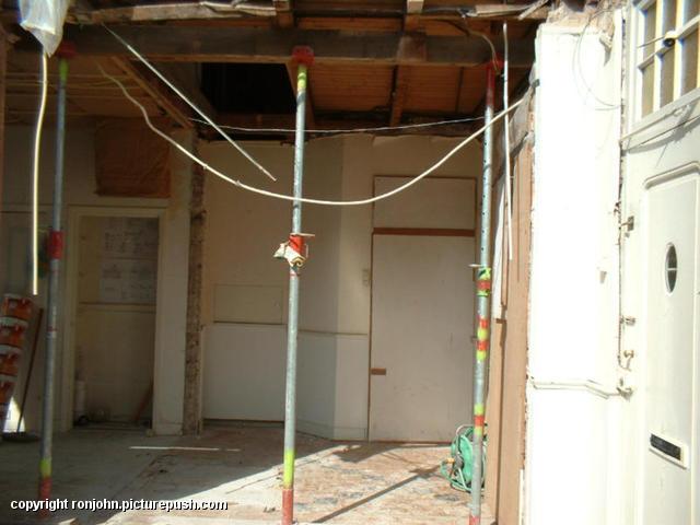 Ouderhuis verbouwing 01-09-02 09 Het ouderlijkhuis van Ron