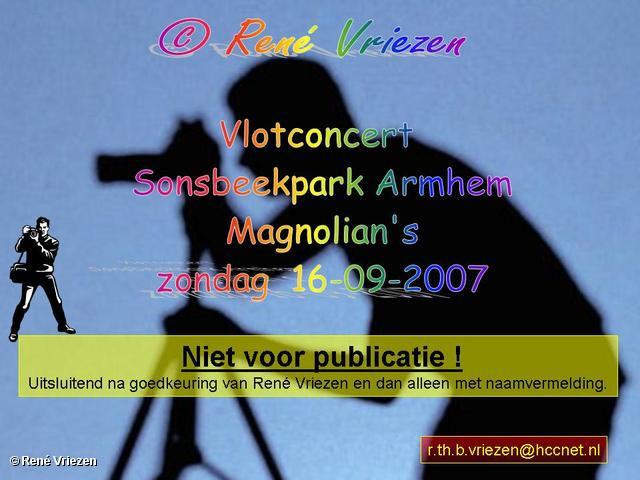 René Vriezen 2007-09-16 #0000 Vlotconcert Sonsbeek The Magnolian's zondag 16-09-2007
