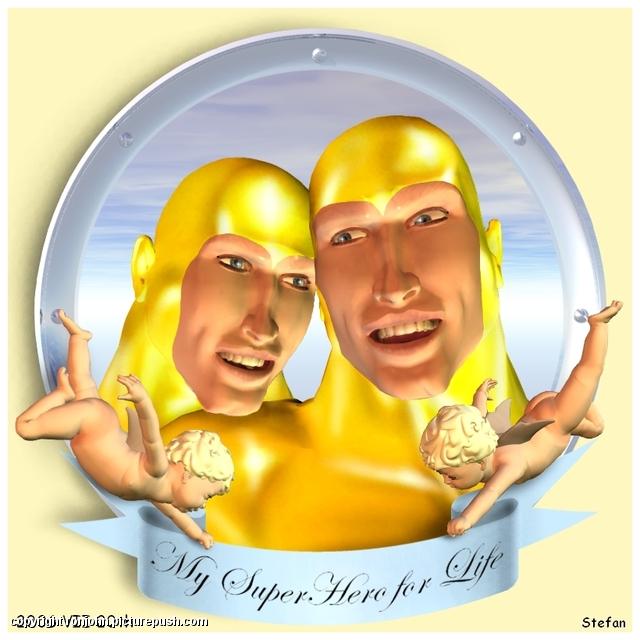 Trouwdag 2006 - van Stefan - My SuperHero for Life Huwelijk 2006 - De dag erna