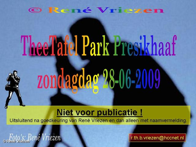 © René Vriezen 2009-06-28 #0000 TheeTafel Park Presikhaaf zondag 28 juni 2009