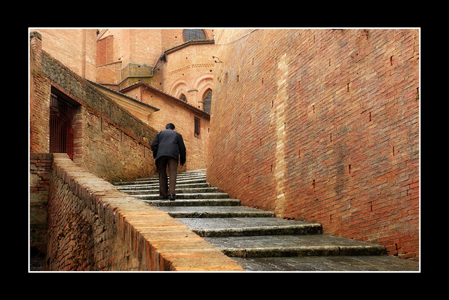 --Siena stair Italy photos