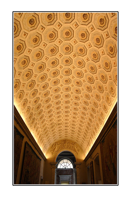 vatican Museum Ceiling Italy photos