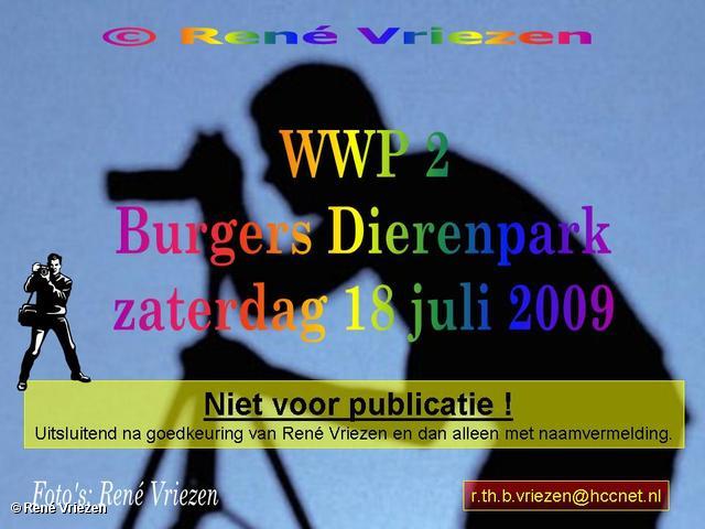 © René Vriezen 2009-07-18 #0000 WWP 2 Burgers Zoo Arnhem zaterdag 18 juli 2009