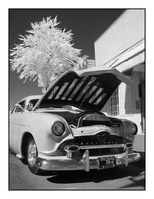 Lead Sled Infra Infrared photography