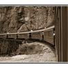 white pass tunnel sepia - Black & White and Sepia