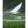 Mendenhall Waterfall - Alaska and the Yukon