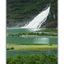 Mendenhall Waterfall - Alaska and the Yukon