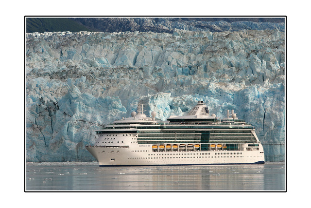 Cruise ship Alaska and the Yukon
