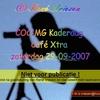 COC-MG Kaderdag Café Xtra zaterdag  29-09-2007