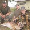 bjorn, jordan & jake with deer - Bjorn